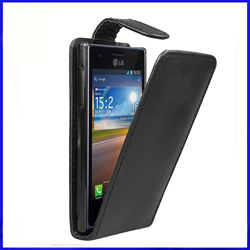 ... LG Optimus L5 LG E610 Leather flip case cover suppliers, LG Optimus