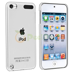 iPod Touch 5 Clear Crystal Hard Case Cover