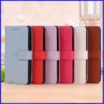 Blackberry Litchi Wallet Leather Case with Card Slot  and Support Stand
