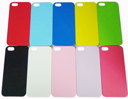 Apple iPhone 5 Hard Skin Back Case Cover