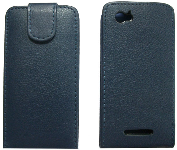 Sony Xperia M Leather flip Case cover