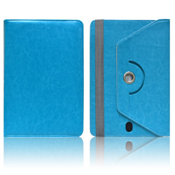 8 inch Universal Tablet Case,360 Rotating Leather Stand Universal Tablet cover