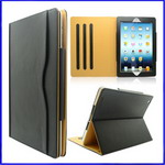 iPad 3 Lichee Pattern Leather case with Stand
