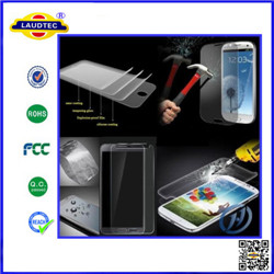 Super dust-proof tempered glass screen protector for Samsung S4