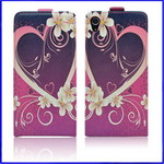 Floral Leather case for Sony Xperia Z2