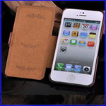 New Flip Wallet Leather Case Cover For iPhone 5