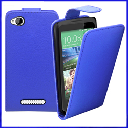 HTC Desire 320 Leather Flip Case Cover Mobile Phone Accessories