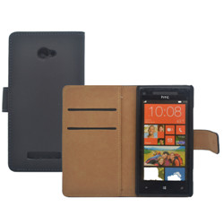 HTC 8x Ultra Slim Wallet Leather case in Stock