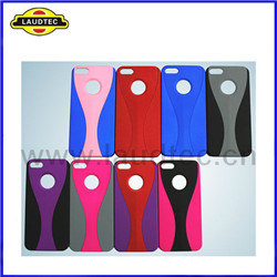 iPhone 5 Two-in-One Goblet Design Back Cover Combo Case