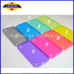iPod Colorful Clear Tpu Touch Case