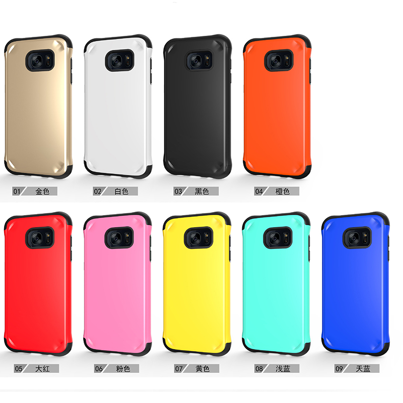 Samsung S7 Edge TPU PC shockproof case cover