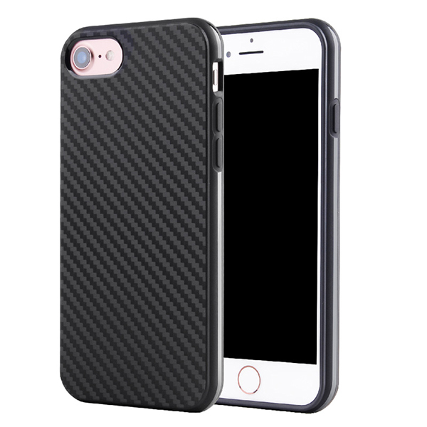 iphone 7 carbon fiber tpu case