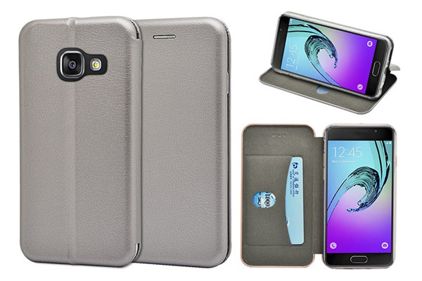 Samsung A3 Full Curved Slim Wallet Case