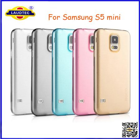 High Quality New Crystal Clear Hard Back Case for Galaxy S5 Mini Crystal Hard Case Laudtec