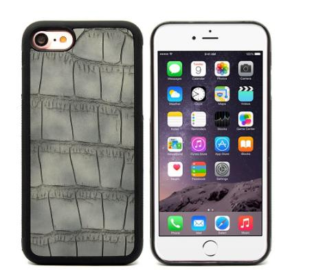 PU leather hard pc back case for iphone 7
