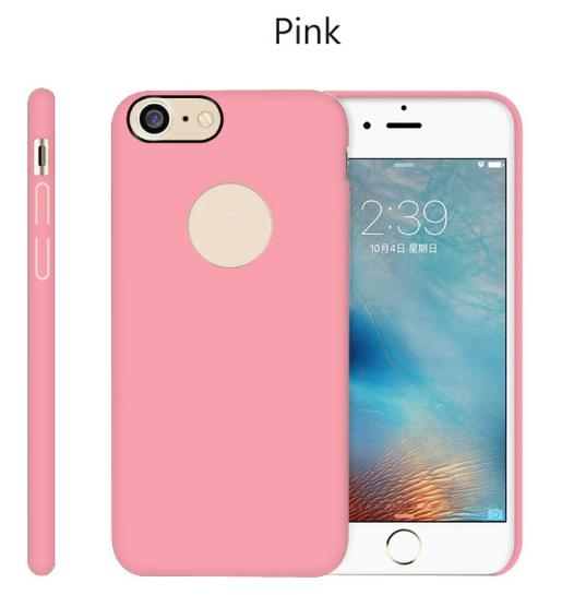 100% High quality Leather hole back case for IPhone ,new design case for IPhone 7