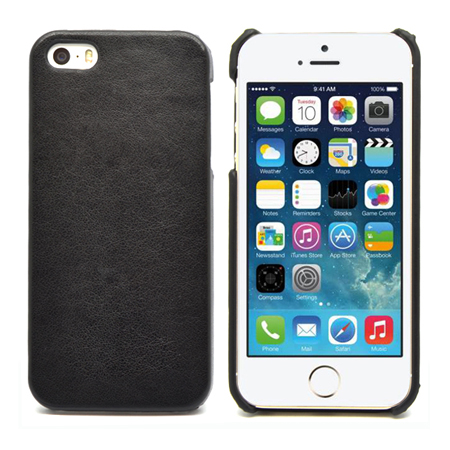 IPhone 5 leather back case cover