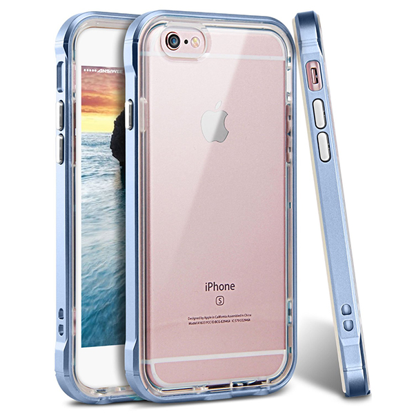 2 in 1 pc+tpu case for iphone 7