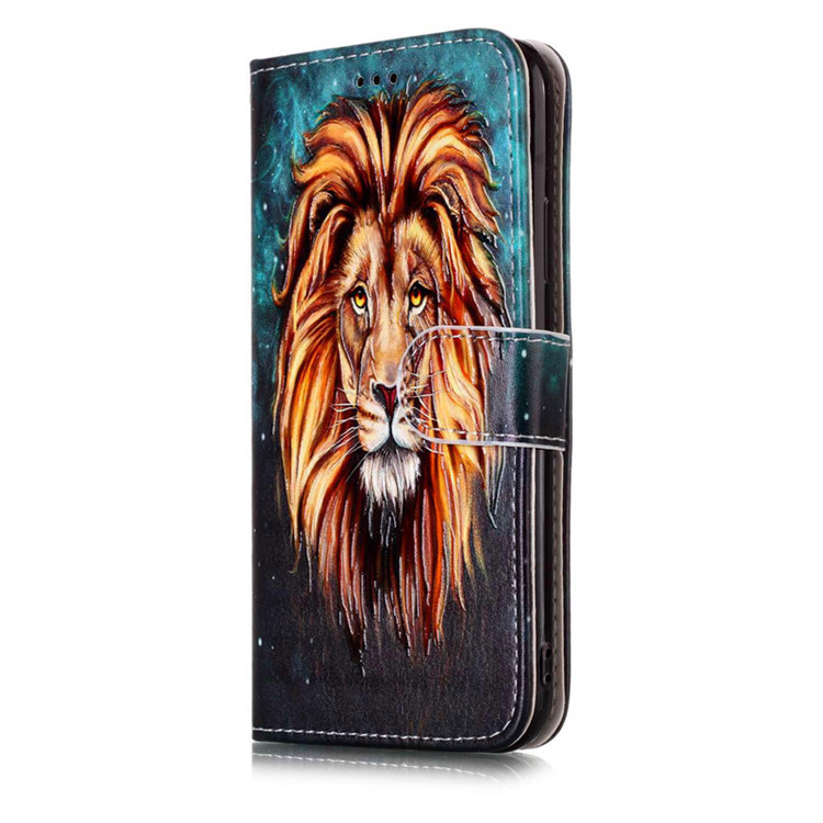 Leather Flip Case For Iphone X with Magnetic Closure