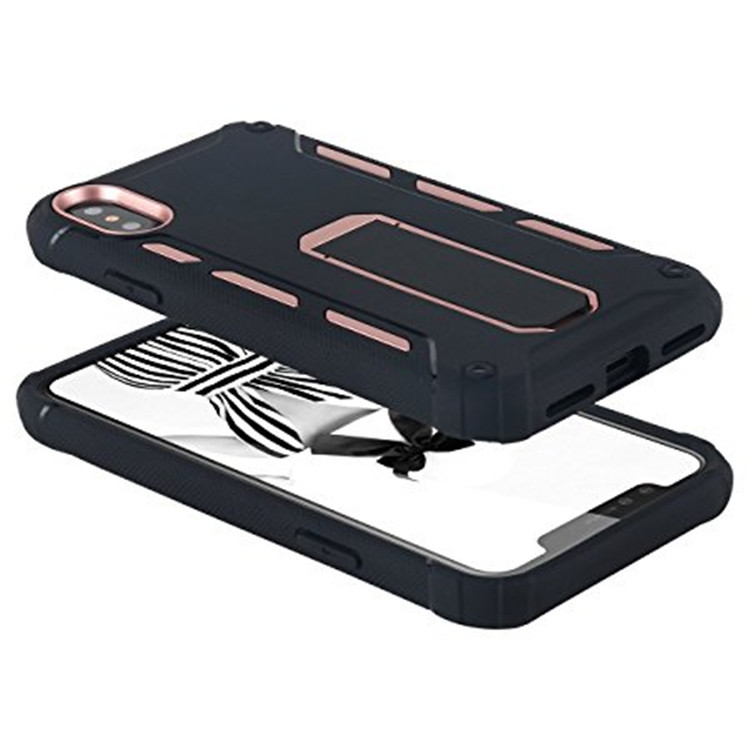 Heavy Duty Case Stand Cover For iPhone X Sport Case