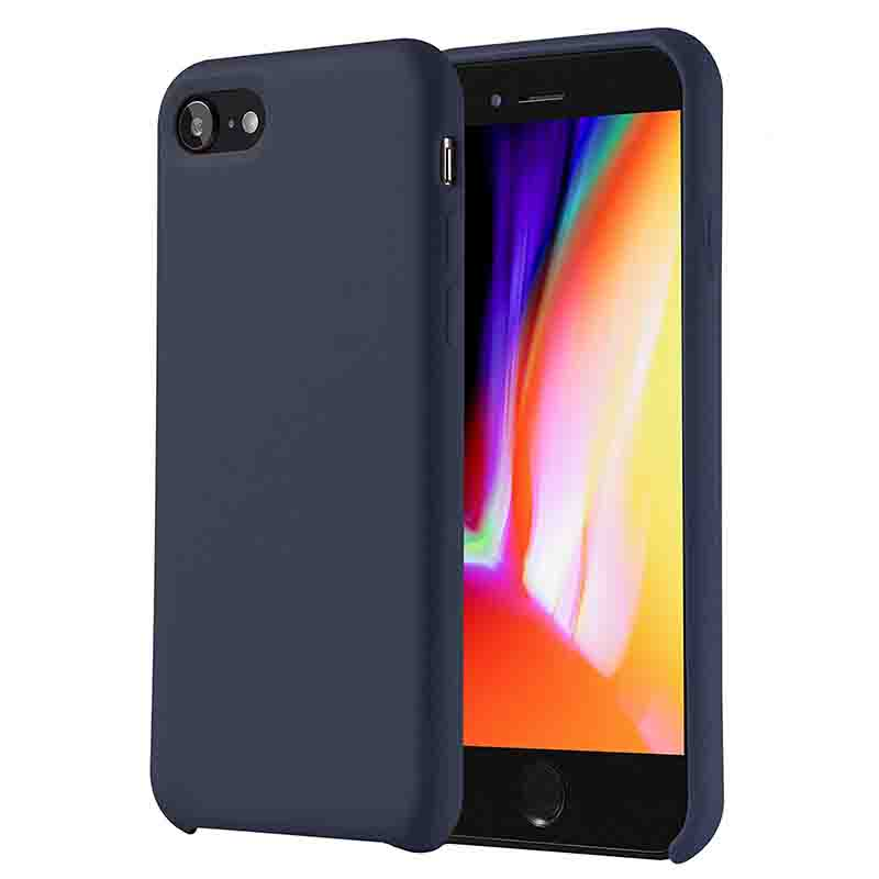 Silicone Case Gel Rubber Shockproof Cover Case for iphone 8