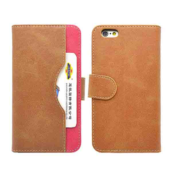 IPhone 6 leather card slot wallet case