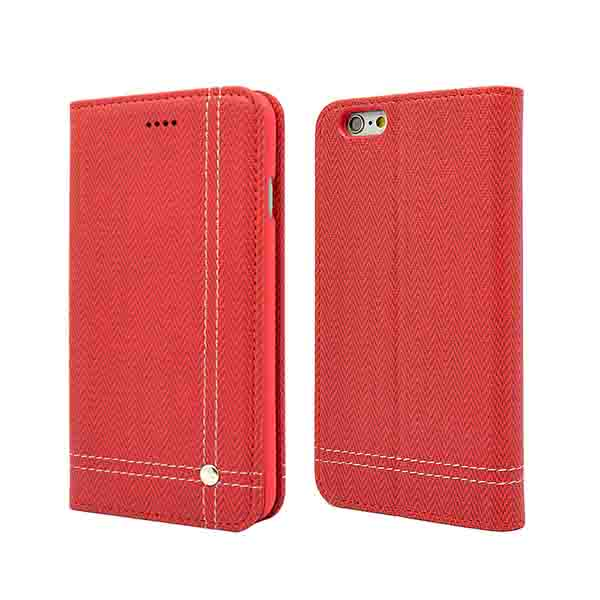 IPhone 6 magnet flip wallet cases cover