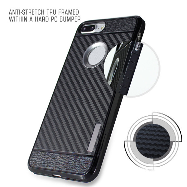 carbon Fiber Tpu Cellphone Case for Iphone 7 Plus