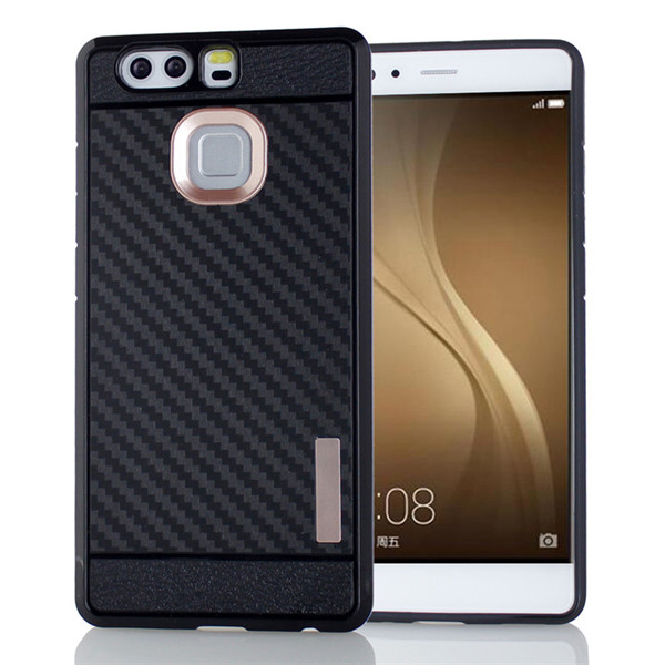 Carbon Fiber Tpu Case Cover for Huawei P9