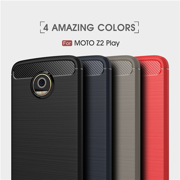 CarbonTpu Phone Case For Motorola Moto Z2 Play