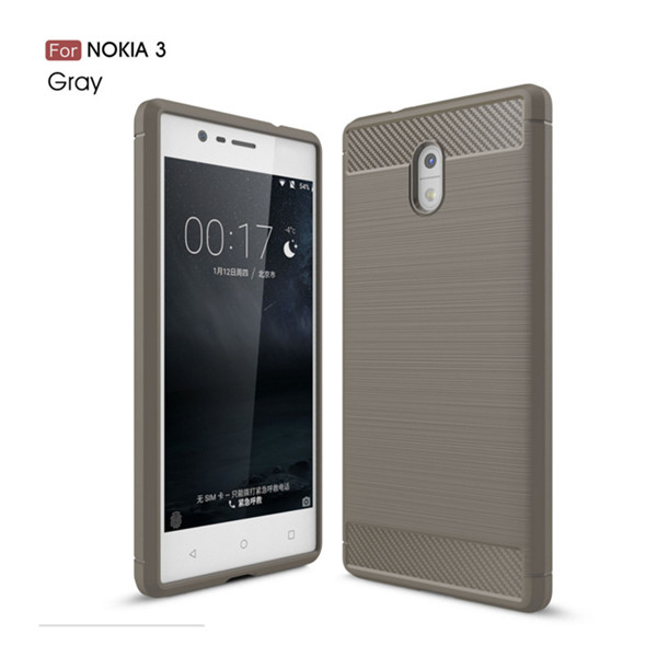 Soft TPU Case Back Cover For Nokia 3