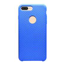 Rubber Cover For IPhone 7 Plus Liquid Silicone Case