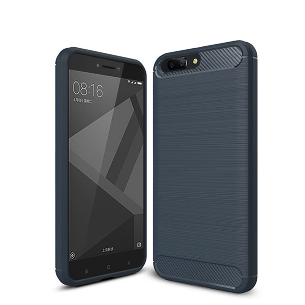 Carbon Fiber Texture Soft TPU Case Cover For Oneplus 5