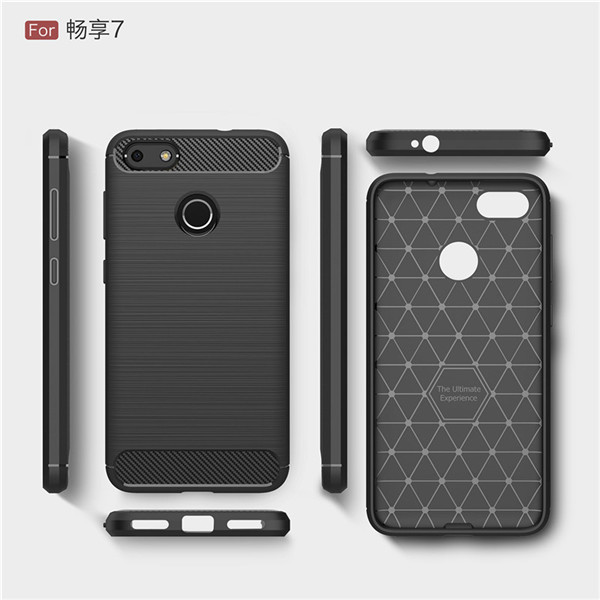 Brushed Case Protecti Cover For Huawei Enjoy 7