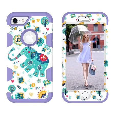 For IPhone7 tpu+pc new design case