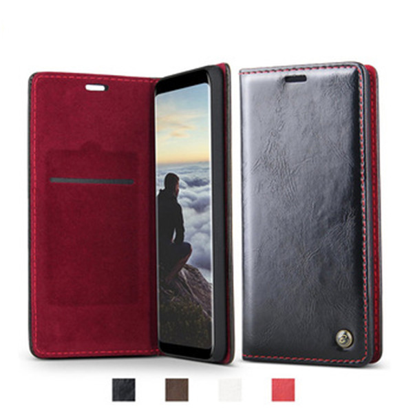 2018 PU Leather Wallet Case Cover for Samsung A8