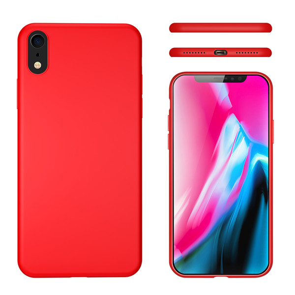 Slim Liquid Silicone Case for iPhone iPhone XR