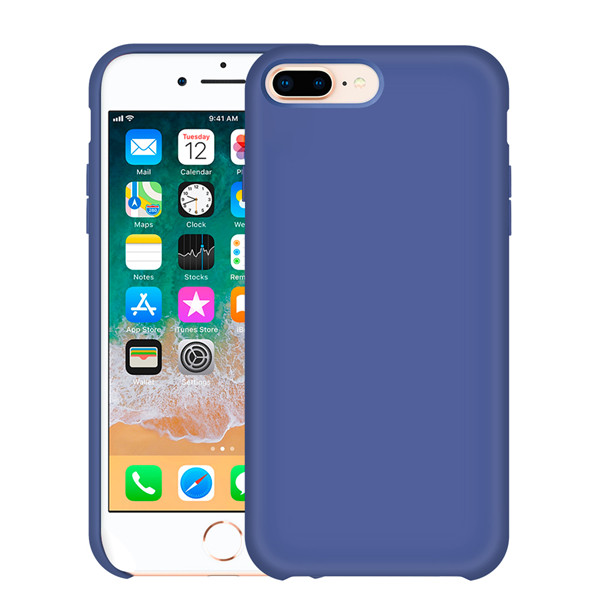 Microfiber Lining Liquid Lining Case for iPhone 8 plus