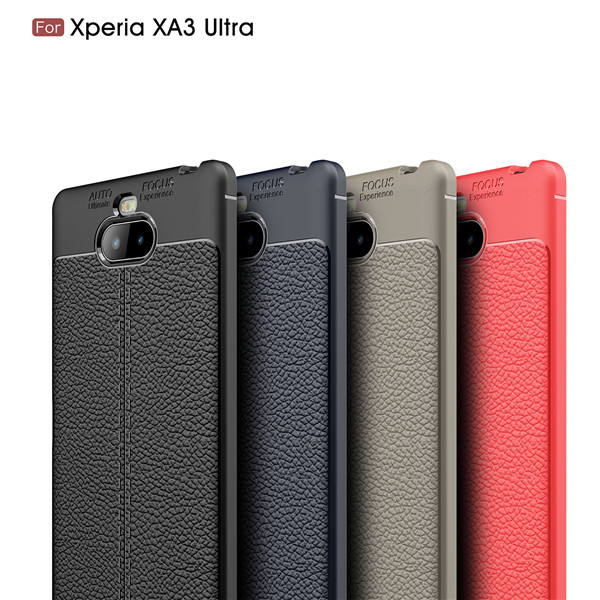 Ultra-thin Phone Cover PU Leather Case for Xperia xa3 Ultra