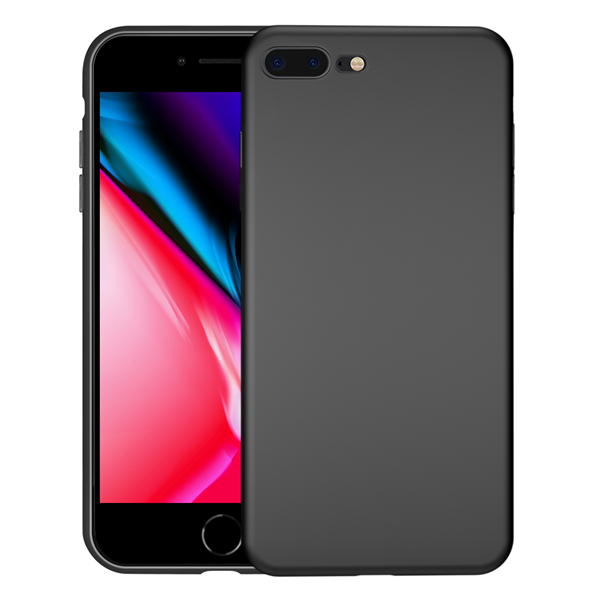 Ultra Thin Liquid Silicone Case For iPhone 8 Plus