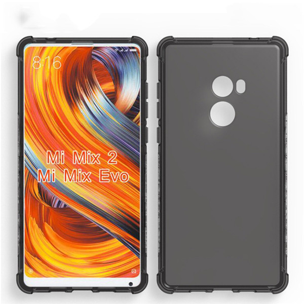 Shockproof Tpu Case For Xiaomi mi mix 2 Back Cover