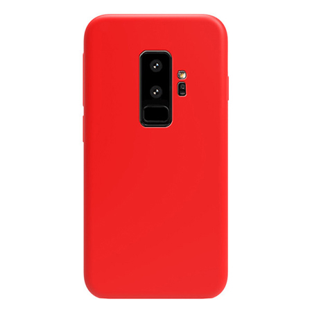 Luxury liquid silicone rubber back cover for Samsung S9 plus case