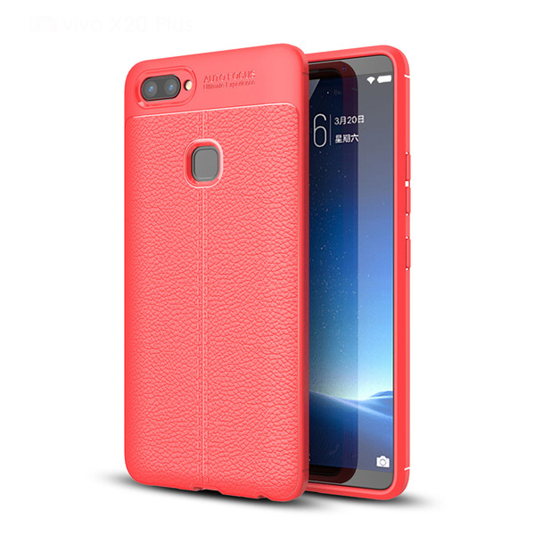 Hot TPU Leather Shockproof Case For Vivo X20 Plus
