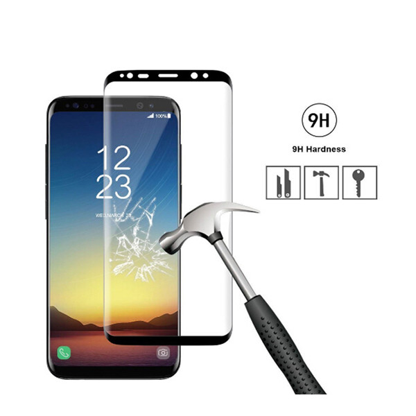3D Tempered Glass Screen Protector for Samsung Galaxy S8/S8 Plus