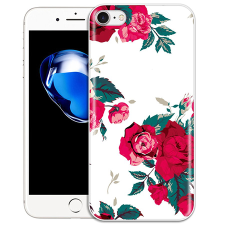 Customized Soft TPU with IMD Glossy Pattern for iPhone8
