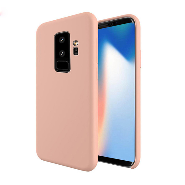2018 New design liquid silicone case for Samsung Galaxy S9 Plus