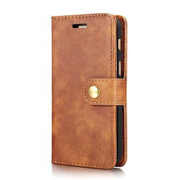 ​Full Body Hard Genuine ​Wallet Leather Case for Samsung Galaxy J7 (2017)