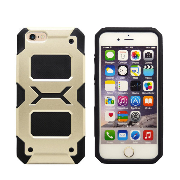 Dual Layer Shockproof TPU PC Case for iphone 6s