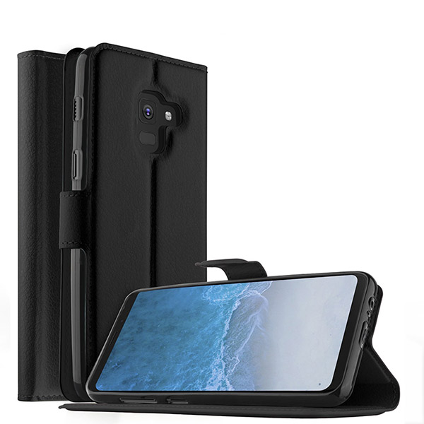​Premium PU Leather Wallet Case For Samsung Galaxy S9