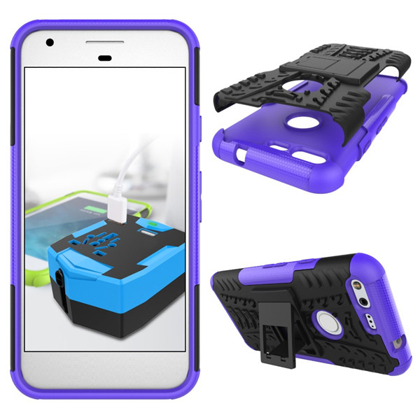 Dual layer tpu pc case for Google Pixel